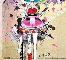 Rori-Gosu Strawberry Pop ♥:♦:♣:♠ by Tiffany Atkin