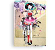 Rori-Gosu Strawberry Pop ♥:♦:♣:♠ Canvas Print