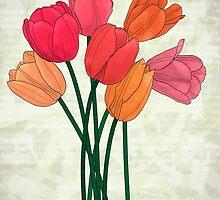 Les tulipes by Till-absurde