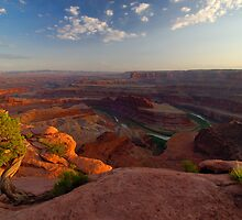 Dead Horse Point by Thomas Peter