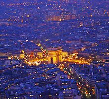 The Arc From The Eiffel by Al Bourassa