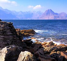 Black Cullins From Elgol by Jim Robertson