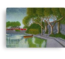 UCG Boat Club (Galway) Canvas Print