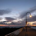 Late dusk on St Kilda Pier by DianneLac