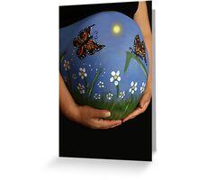 Monarch Butterfly Garden Greeting Card