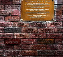 Cavern wall of fame by Paul Reay