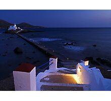Agios Isidoros Photographic Print