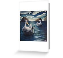 Drifters Greeting Card