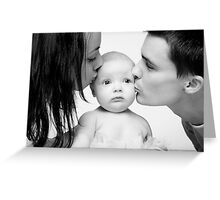 Sweet Baby Klara Greeting Card