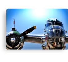"MITCHELL B-25 MEDIUM BOMBER ""Panchito"" Canvas Print"