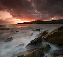 Fiery sky Milky Sea 2 by stephen foote