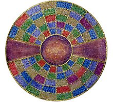 Mandala :  Colour Coded by danita clark