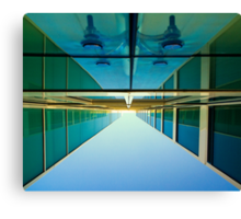 Unusual perspective Canvas Print