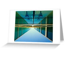 Unusual perspective Greeting Card