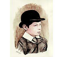 Churchill the schoolboy Photographic Print