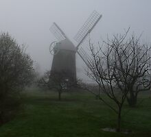 Prescott Farm Windmill by JenniRotten