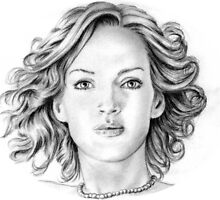 Uma Thurman Portrait by wu-wei