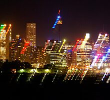 Sydney Under Lights by ijam357