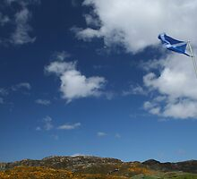 Flag of Scotland (Saltire, St Andrew's cross) by Mishimoto