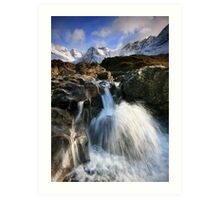 The Fairy Pools of Skye Art Print