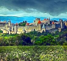 Carcassonne by Beth A