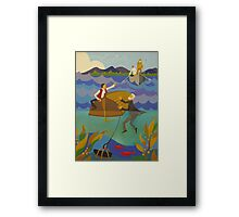 ELI, CLARENCE AND THE KILLICK 1845 Framed Print