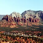 Looking over Sedona Az by Ann Warrenton