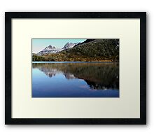 Reflections in Lake Lilla, Cradle Mountain  Framed Print