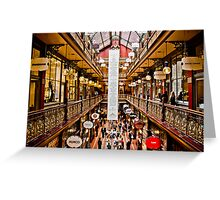 The Strand Arcade Est.1892 Greeting Card
