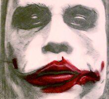 The Joker Heath Ledger The Dark Night by Anthony Mitchell