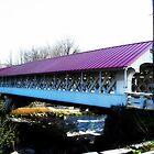 Covered Bridge No 1 New Hampshire Orton by Rebecca Bryson