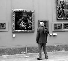 Spending time in the Louvre by Bevellee
