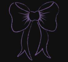 Purple Bow by JAZY