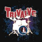 Trivalve drum splatter by rlaber