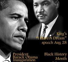 """Destiny """"Obama-Lincoln-MLK"""" by Bobbi Miller-Moro"""