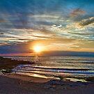 Maroubra sunrise by Alexander Meysztowicz-Howen