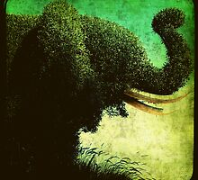 Ttv: Elephant Topiary by PeggySue67