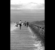 Beach Walk by Jeff Ewing