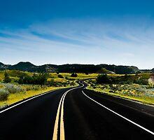"""Life in the Vast Lane""  North Dakota by raberry"