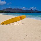Waimanalo Beach Oahu by photosbyflood