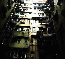 Appartment Blocks in Hong kong by Emmanuel Sim