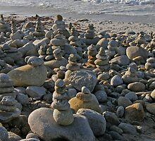 Zen Art ~ Stacking Rocks by Patty Boyte