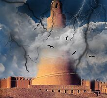 Tower of Babel by sunshine0