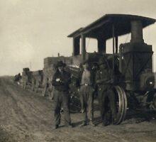 North Dakota Potato Train 1903 by Randy Sprout
