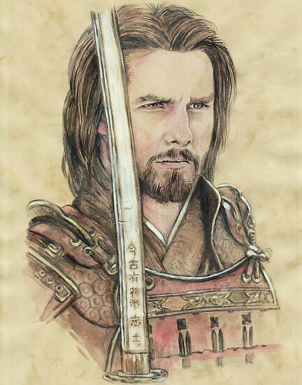 Tom Cruise the Last Samuri by morgansartworld