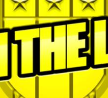 I AM the law! Sticker