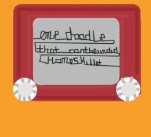 One Doodle that can't be undid homeskillet  by Kimberly Temple