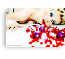 I Puke Glamour II Canvas Print