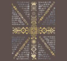 Union Jack Silver and Gold by Stuart Stolzenberg