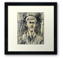 Portrait of Trevor Framed Print